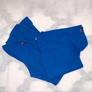 Blue Cherokee scrub set size medium w/gray pants